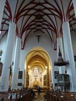 In the Thomaskirche, Leipzig