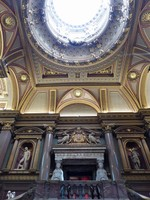 Entrance hall of the Fitzwilliam Museum, Cambridge