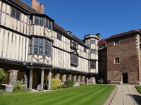 Cloister Court, Queens' College, Cambridge