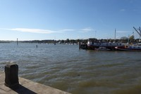 View from our coffee spot, Woodbridge