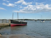 On the banks of the Deben in Waldringfield