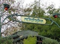 Metro station, Ile de la Cite
