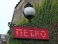 Metro station sign, Saint Germain des Prés