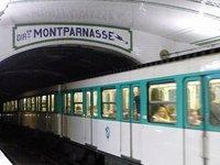 At Sèvres-Babylone Metro station