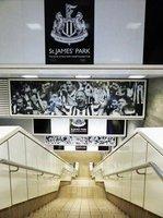 St James' Park Metro Station, Newcastle