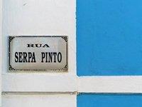 Building detail, Praia