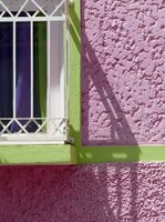 Colourful house, Praia