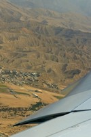 Taking off from Muscat Airport