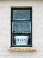 Hut window, Bletchley Park