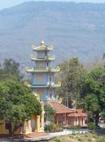 Pagoda in Pakse