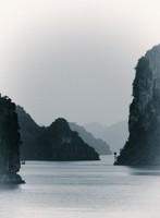 Early morning in Bai Tu Long Bay