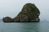 Islet nicknamed 'The Whale'