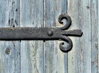 Hinge on the smithy door, Gunnerside