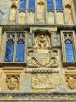 Detail of the Penniless Porch, Wells Cathedral