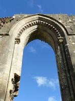 Glastonbury Abbey - ruins of the great church