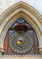 Astronomical clock, Wells Cathedral