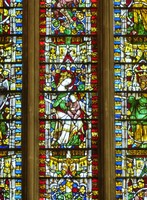 Detail of the Jesse Window, Wells Cathedral