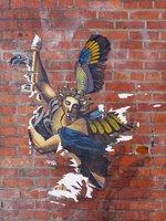 Street art, near Pioneer Square, Seattle