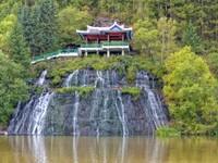 Rimyongsu Falls