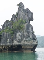 Rock formation, Bai Tu Long Bay