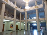 Lobby of the Pyongyang Grand Theatre