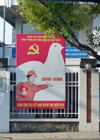 Propaganda poster, HCMC