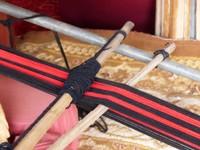 Weaving loom, Bedouin tent
