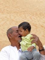Salma's husband and grandson