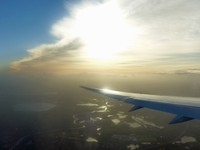 After take-off from Heathrow