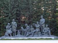 Sculptural group, Samjiyon Grand Monument