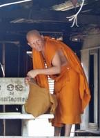 Monk at Wat Preah Prom Rath