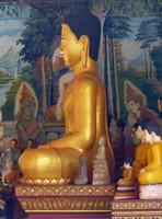 Gold Buddha, Wat Preah Prom Rath