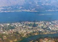 Taking off over Luang Prabang