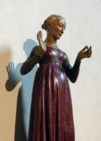 Madonna of the Annunciation, Matteo Civitali, Basilica di San Frediano, Lucca