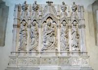 Shrine to Richard the Pilgrim, Basilica di San Frediano, Lucca