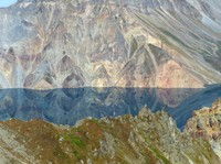 Reflections in Lake Chon, Mount Paektu