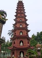 Main pagoda, Tran Quoc Pagoda