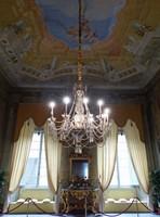 Main hall of the Palazzo Pfanner