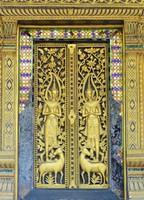 Door to the sim, Wat Choum Khong