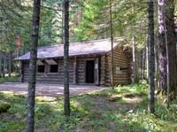 HQ hut, Mount Paektu Secret Camp