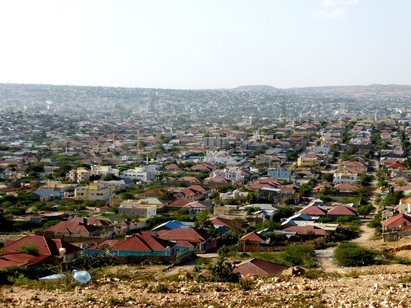 Overview over Hargeisa - Hargeysa