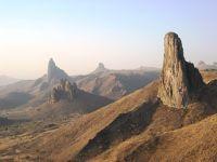 Peaks  of the Kapsiki mountain range - Roumsiki