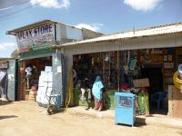 shops in the market area - Burao