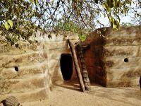Lobi house opposite Musée de Poni - Burkina Faso
