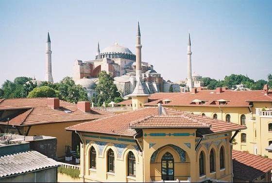 Ayia Sofia from the Terrace - Istanbul
