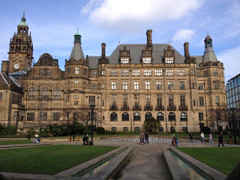 Sheffield - Millennium Square