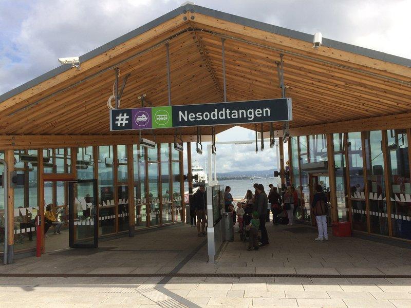 Nesoddtangen Ferry Terminal