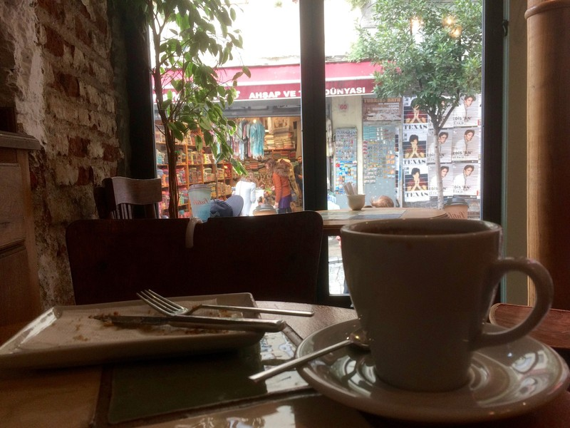Coffee at Galata