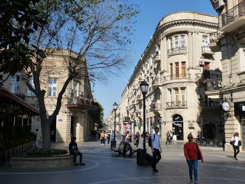 Downtown Baku