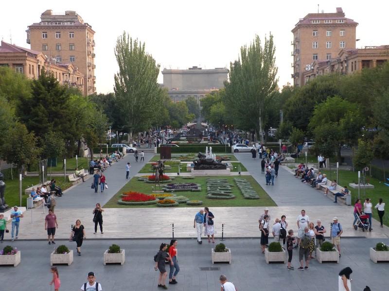 Downtown Yerevan
